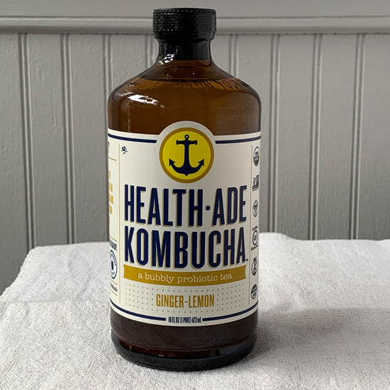 Kombucha Ginger Lemon