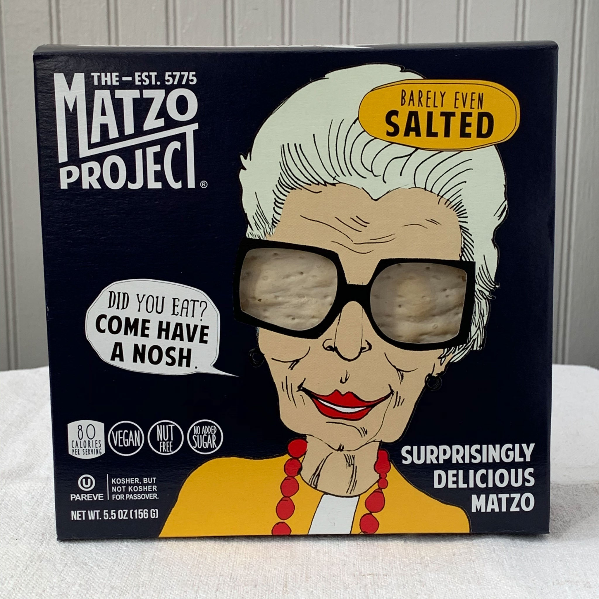 Matzo - Barely Even Salted