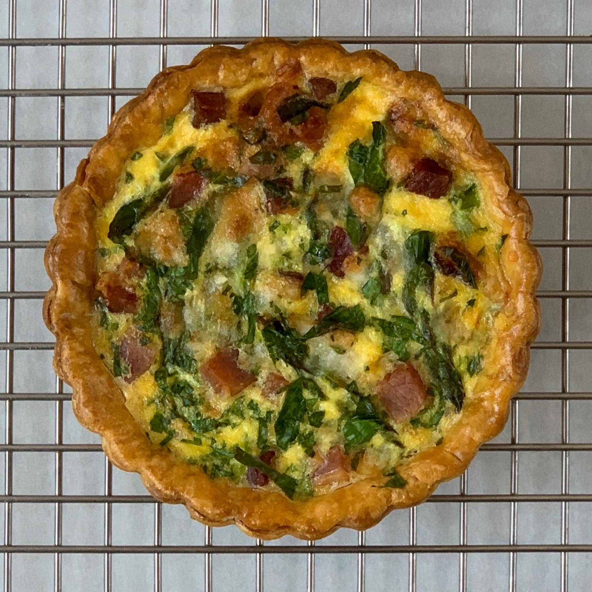 Seasonal Quiche