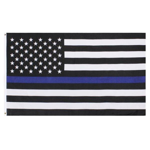 Item # CPI-040<br>Thin Blue Line Flag (3'x5')