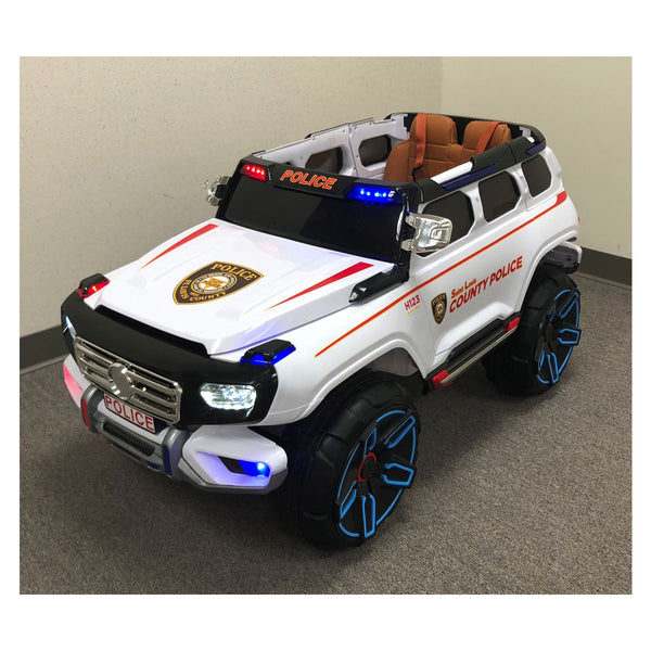 ST. LOUIS COUNTY POLICE SUV<BR>KID'S BATTERY OPERATED RIDE ON
