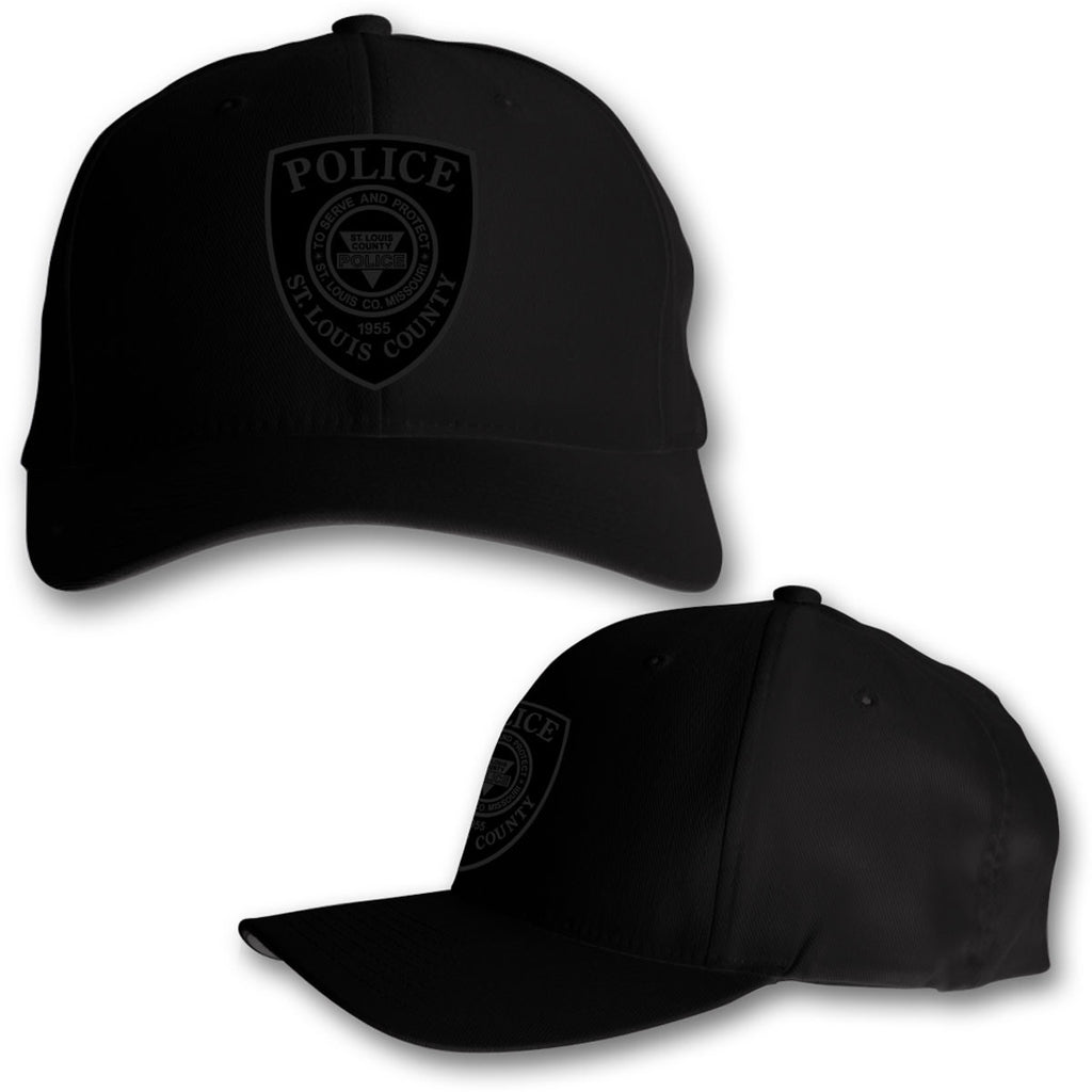 "Item # CHW-002<BR>SLCPD ""Tonal Badge"" Black Hat"