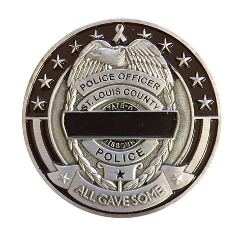 Item # CPI-078<br>SLCPD 2017 Memorial Breakfast Coin