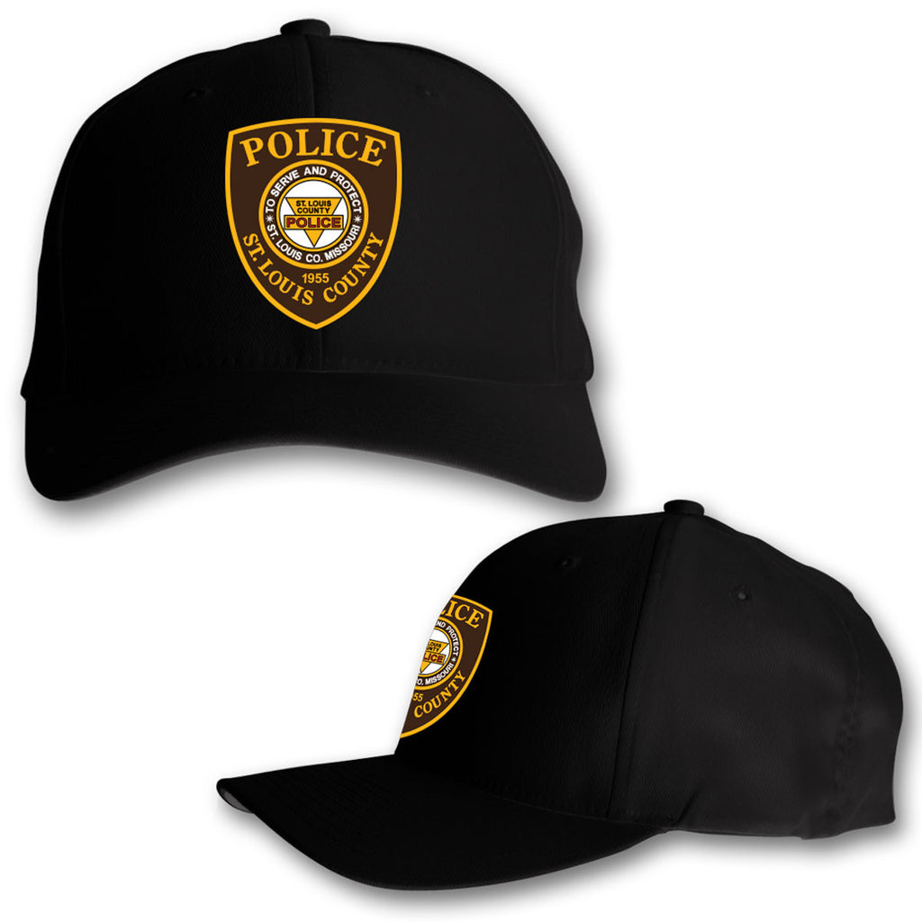 "Item # CHW-001<BR>SLCPD ""Badge"" Black Hat"