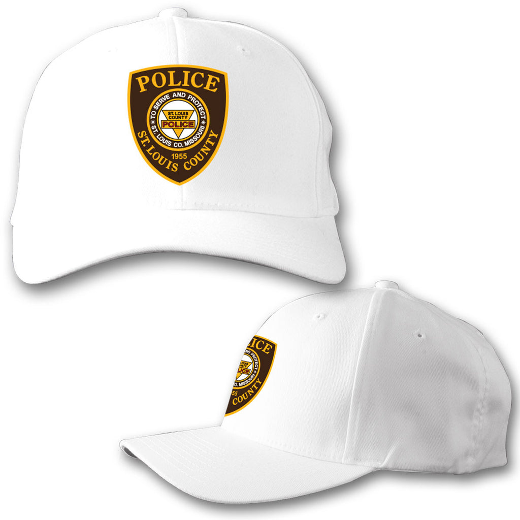"Item # CHW-003<BR>SLCPD ""Badge"" White Hat"