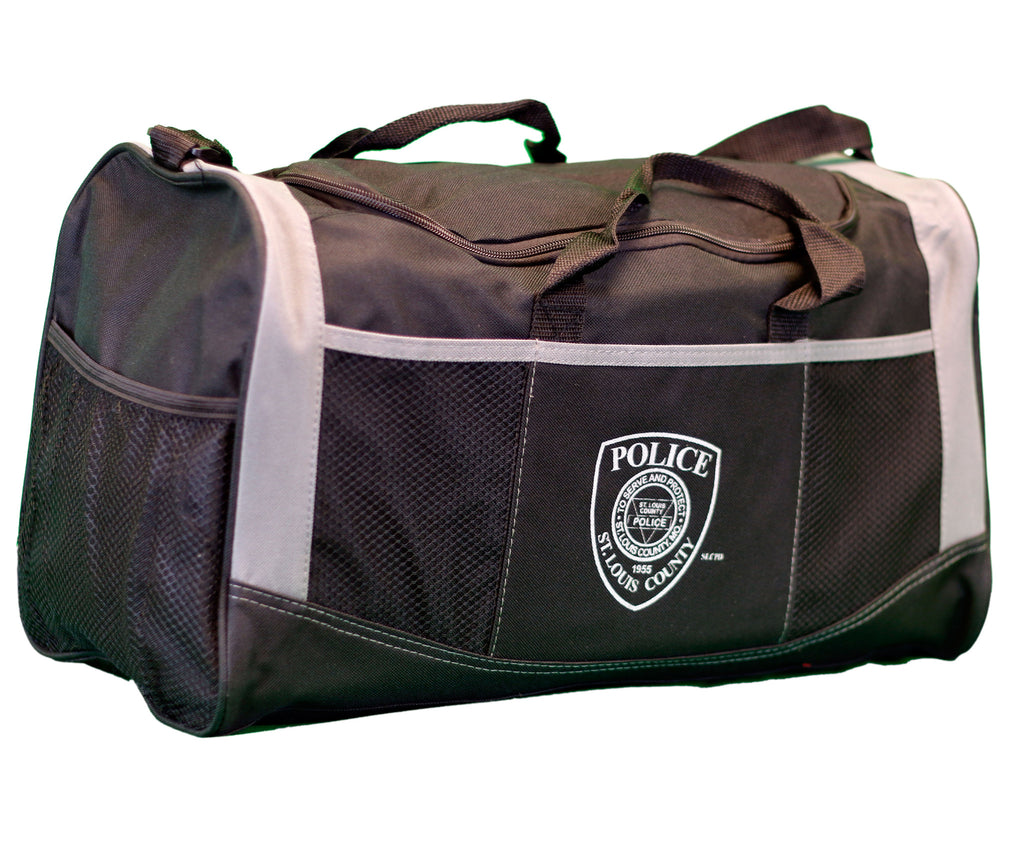 Item # CPI-048<br>St. Louis County P.D. Duffel Bag