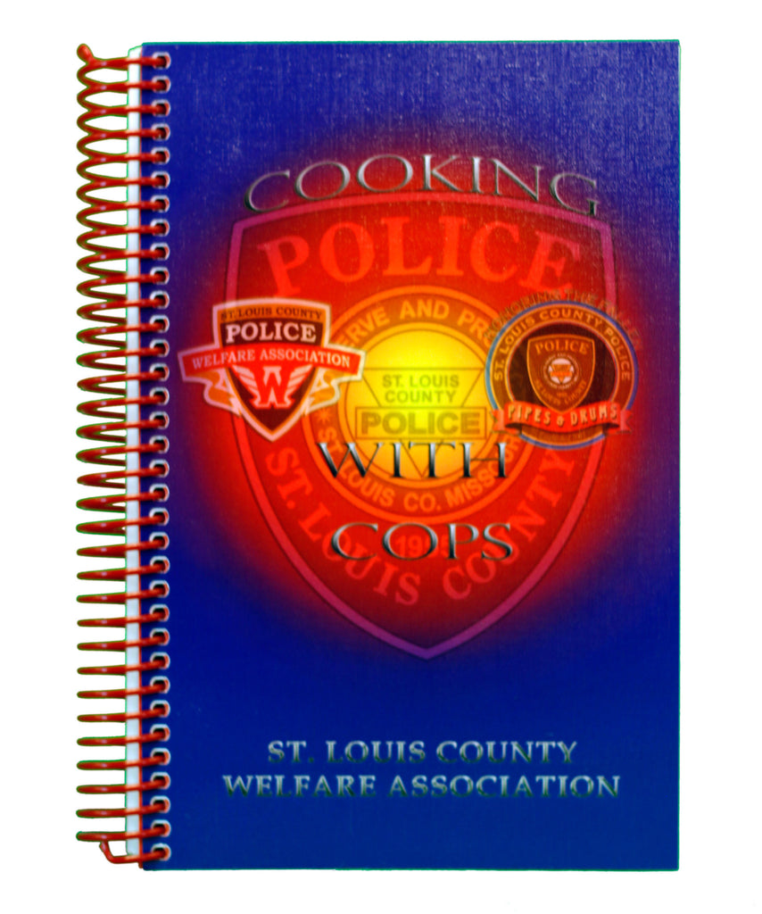 "Item # CPI-042<br>""Cooking with Cops"" Cook Book"