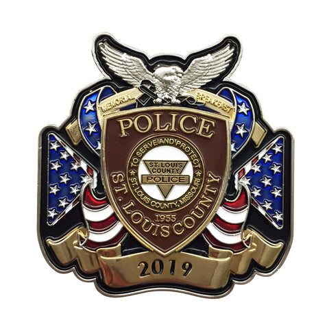 Item # CPI-088<br>SLCPD Annual Memorial Breakfast Coin
