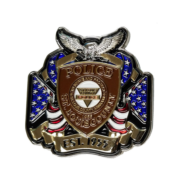 SLCPD In The Line of Duty Coin