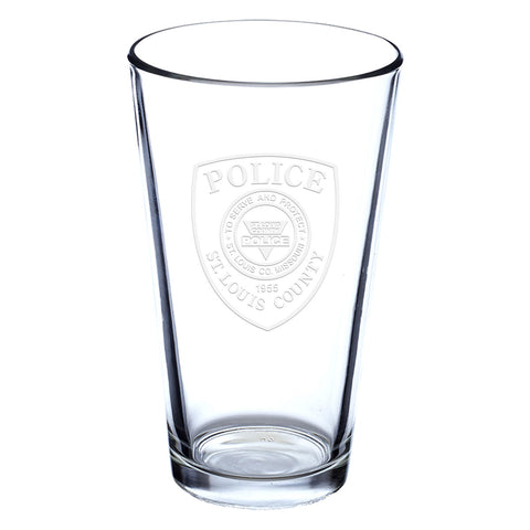 Item # CDW-021<BR>St. Louis County P.D. Pint Glass