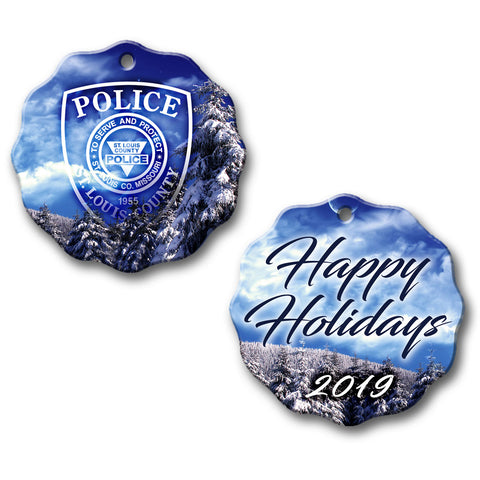 "SLCPD ""2019 Happy Holidays"" Ornament"