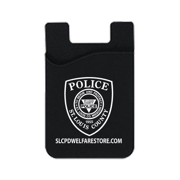 Item # CPI-021<br>St. Louis County P.D. Badge Phone Credit Card Holder