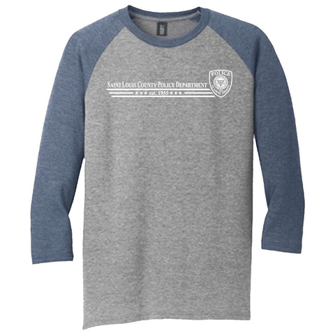 "SLCPD ""Established 1955"" Tri Raglan Shirt"