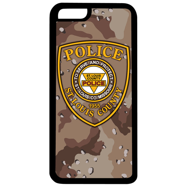 "Item # CPI-051<br>St. Louis County P.D. ""Camouflage"" iPhone Case"