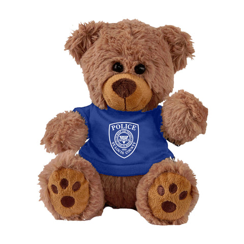 Item # CPI-085<br>St. Louis County P.D. Plush Bear