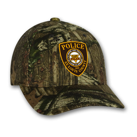 "Item # CHW-005<BR>SLCPD ""Badge"" Camo Hat"