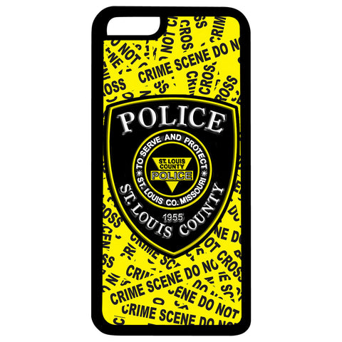 "Item # CPI-052<br>St. Louis County P.D. ""Crime Scene"" iPhone Case"