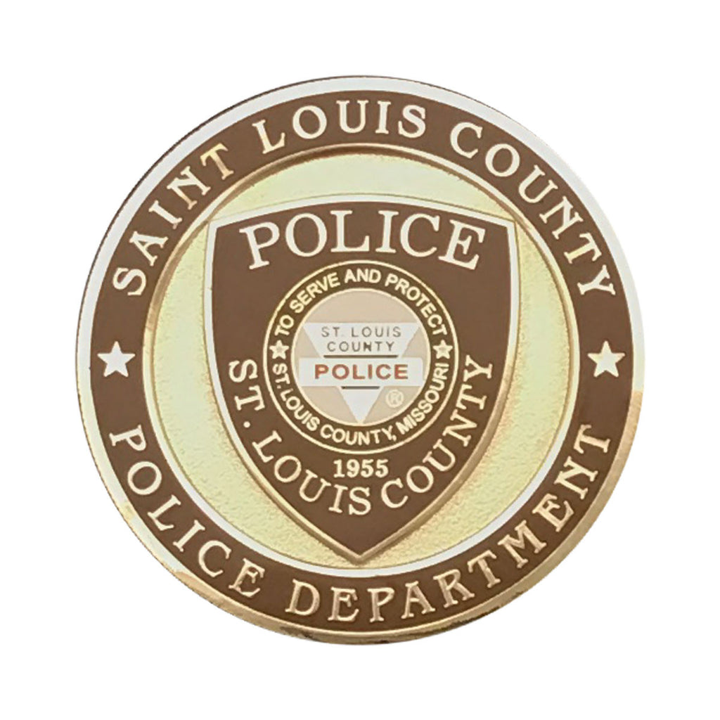 "Item # CPI-068<br>SLCPD 10 Officer ""In the Line of Duty"" Coin"