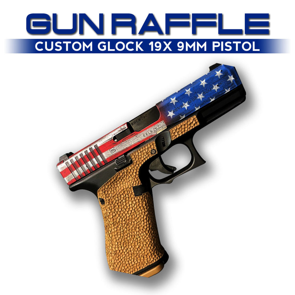 "Compton Roofing & Midwest Cerakote presents ""GUN RAFFLE"" to benefit SLCPD Welfare Association"