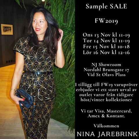 SAMPLE SALE FW19 & Outlet