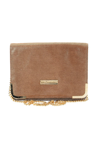 Bag Anja Plain Gold/ Grey Snake