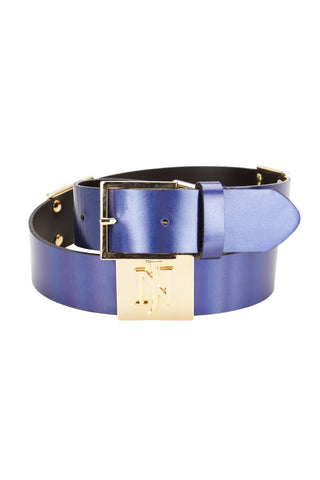 Belt Camilla Blue Metal