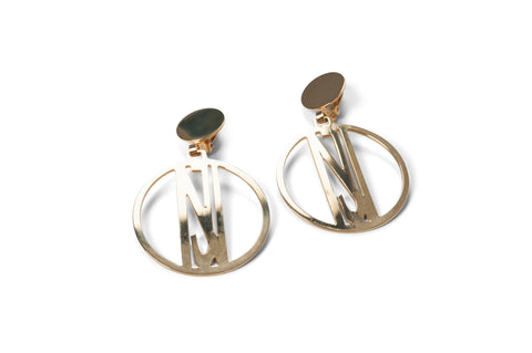 Earrings Round