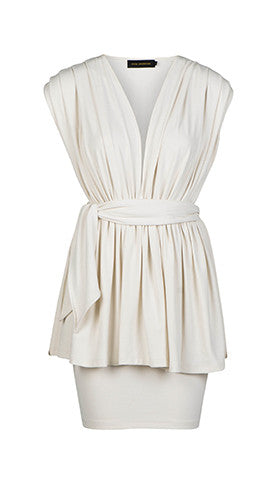 Dress Maja Offwhite