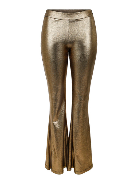 Trousers Flare Gold