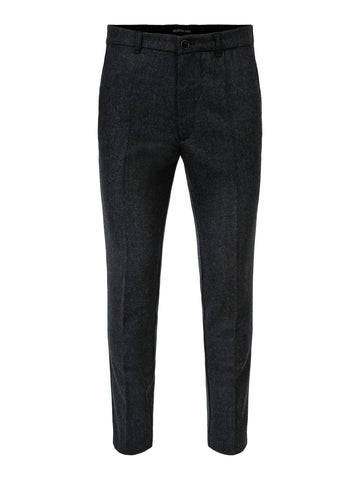 Morten Trousers Grey Fishbone