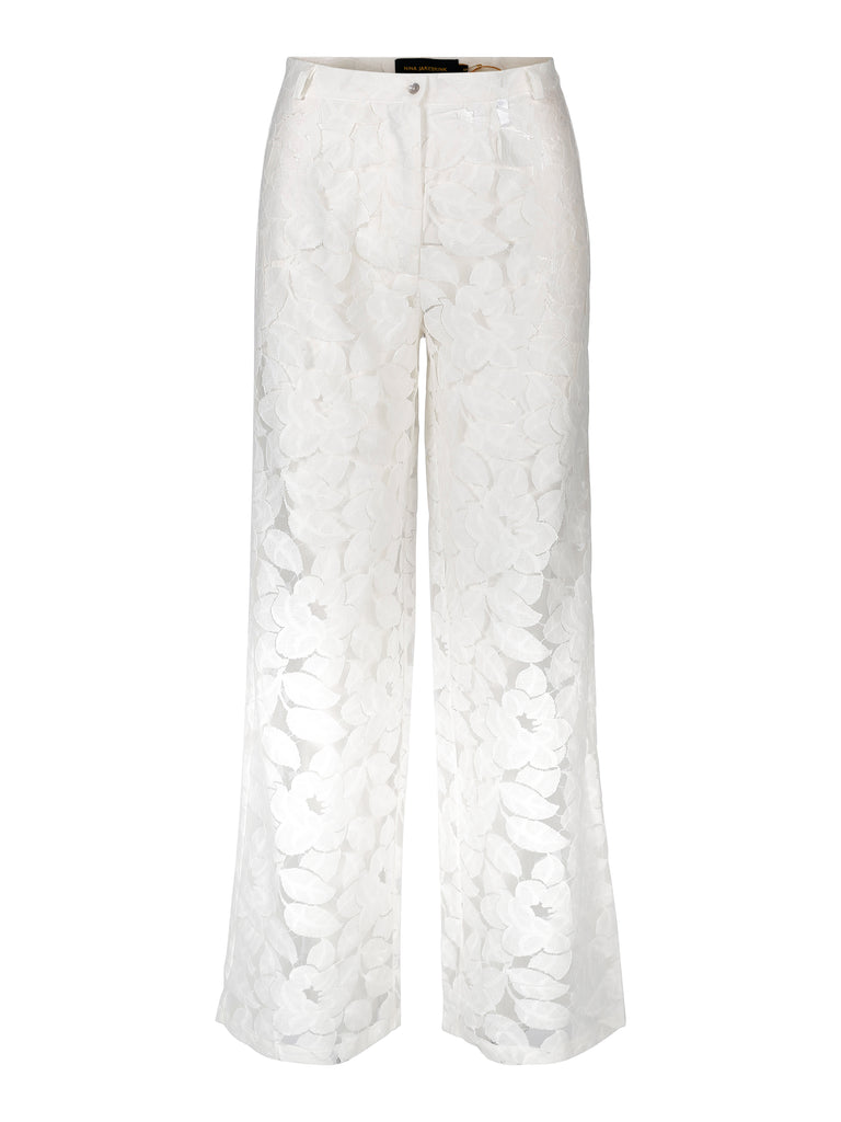 Trousers Penilla Lace Vit