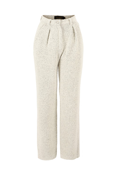 Trousers Pernilla Wool Offwhite