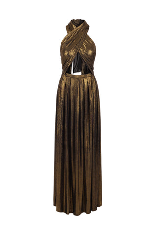 Dress Wrap Gold