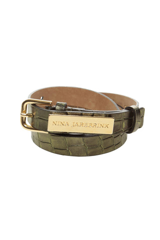 Belt Nicka Green Leather