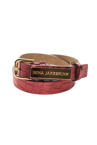 Belt Nicka Red Leather
