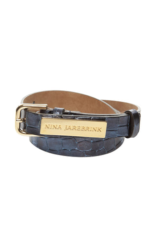 Belt Nicka Blue Leather