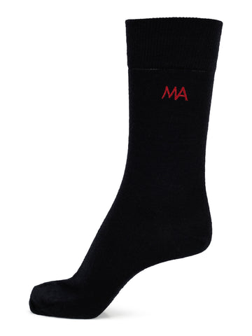 Sock Plain Black