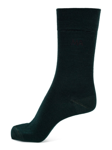 Sock Plain Green