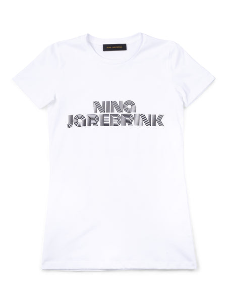 T-Shirt Nina White w.Black