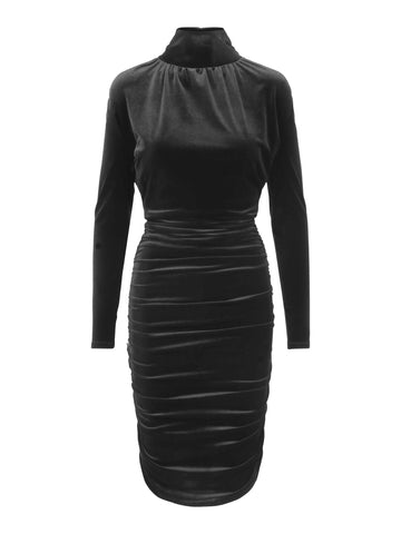 Dress Isabella Velvet Black