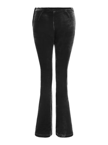 Trousers Connie Velvet Black