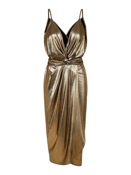 Rent Dress Thms Gold