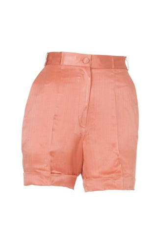 Shorts Pernilla Silk Peach