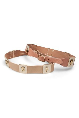 Belt Camilla Plain Beige/ Peach