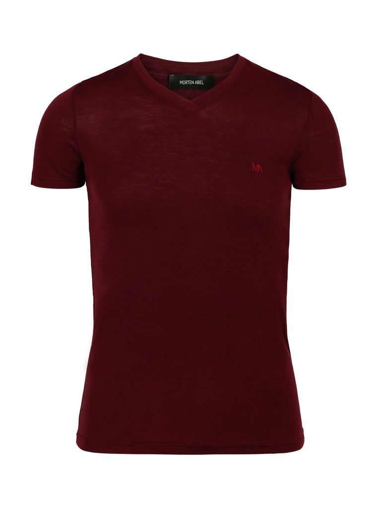 T-shirt Morten Wine