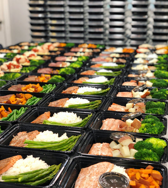 18 Meals for $170 a delivery included ($150/18 meals $10/delivery added at checkout)