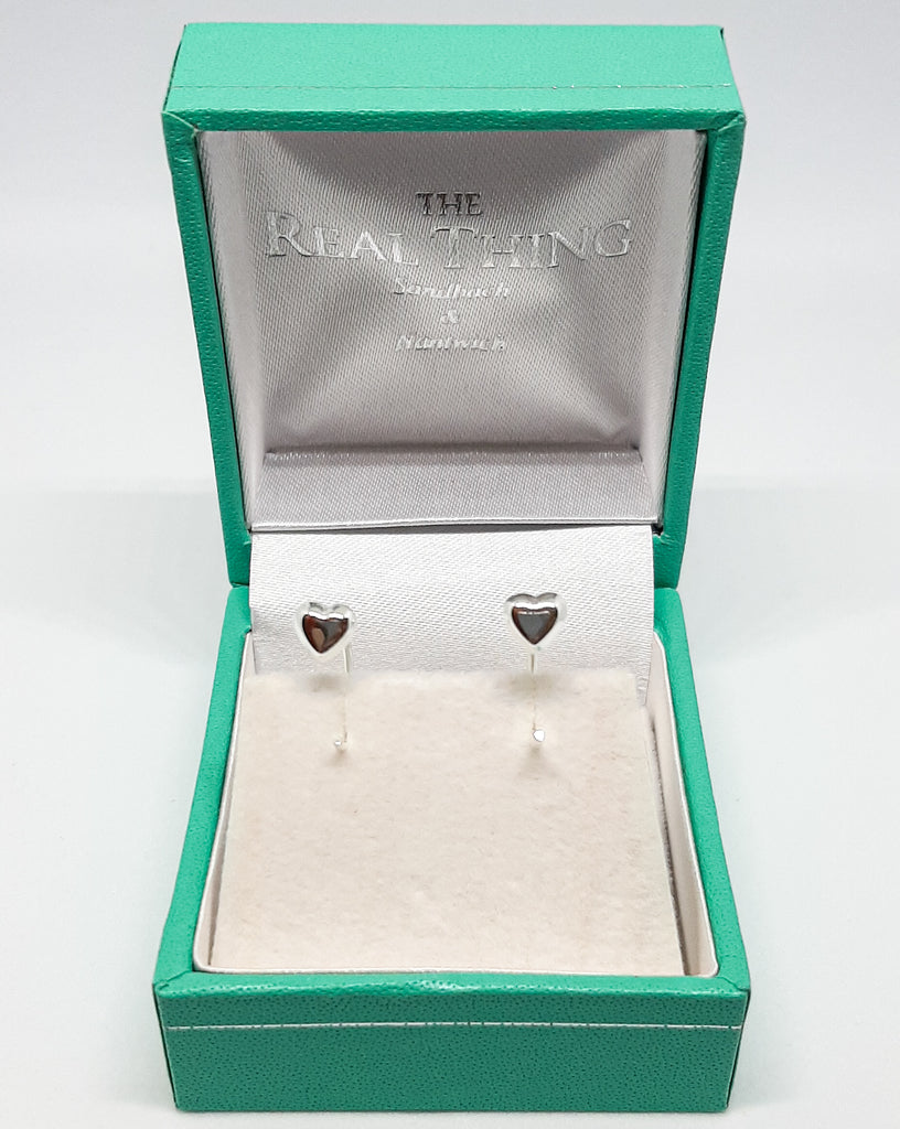 Dainty Heart Hook Earrings