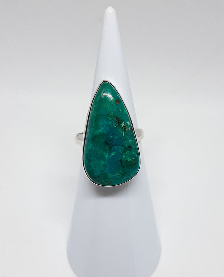 Turquoise Large Pear Shaped Ring