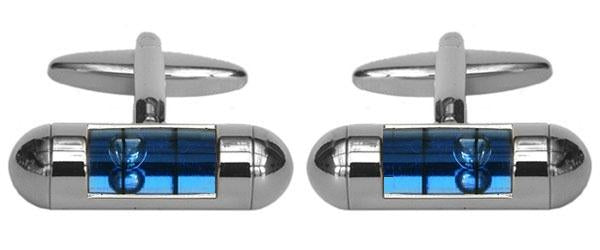 Gents Spirit Level Cufflinks