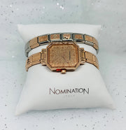 Nomination Rose Gold Glitter Face Watch